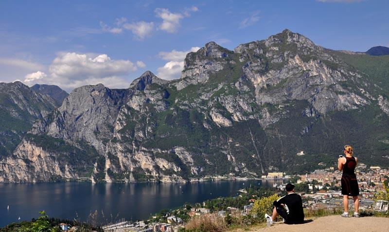 Dal Lago di Garda ai forti del Monte Brione (Lago di Garda, Trentino)