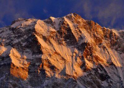 Alba sull'Annapurna