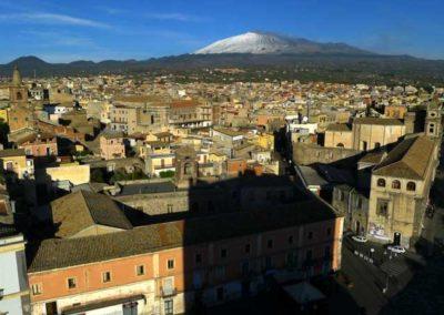 Adrano e l'Etna dal Castello