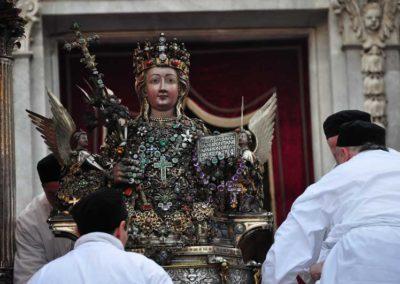 Il busto di Sant'Agata