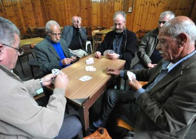Nazareth, partita a carte