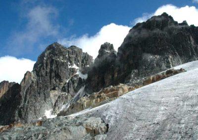 Punta Elena, Punta Savoia e ghiacciaio Elena