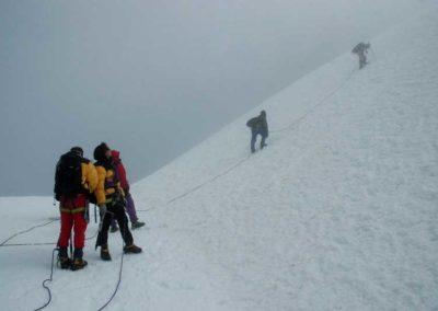 Sul Margherita Glacier 2