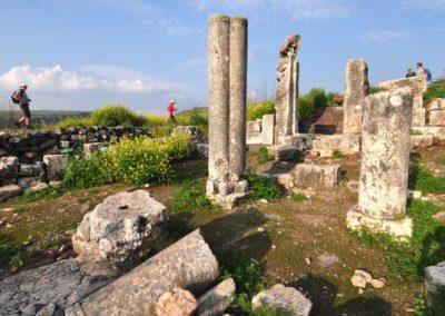 Arbel, la sinagoga antica