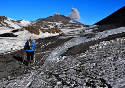 Verso i crateri dell'Etna