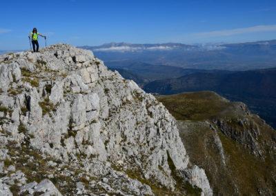 Simbruini, la cresta del Monte Viglio