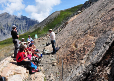 Monte Bianco, le impronte di dinosauri di Emosson