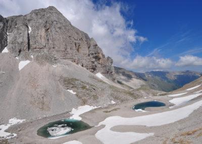 Sibillini, il Pizzo del Diavolo e il Lago di Pilato