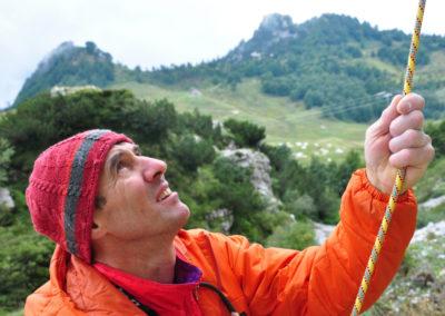 2010, Gianni Bisson ai piedi della Sisilla