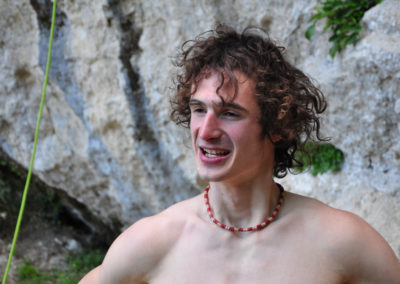 2017, Adam Ondra a San Rocchino (Alpi Apuane)
