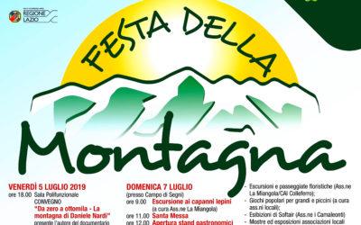 SEGNI, LA FESTA DELLA MONTAGNA (5, 6 E 7 LUGLIO 2019)